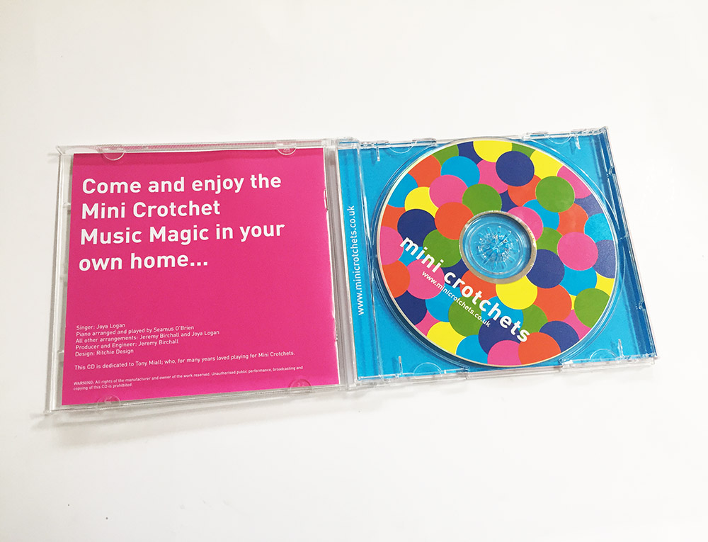 Mini Crotchets CD
